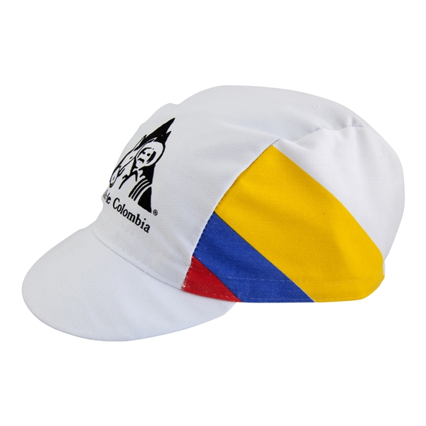 Cafe de Colombia Retro Cycling Team Cap Herrera Columbia (sic)