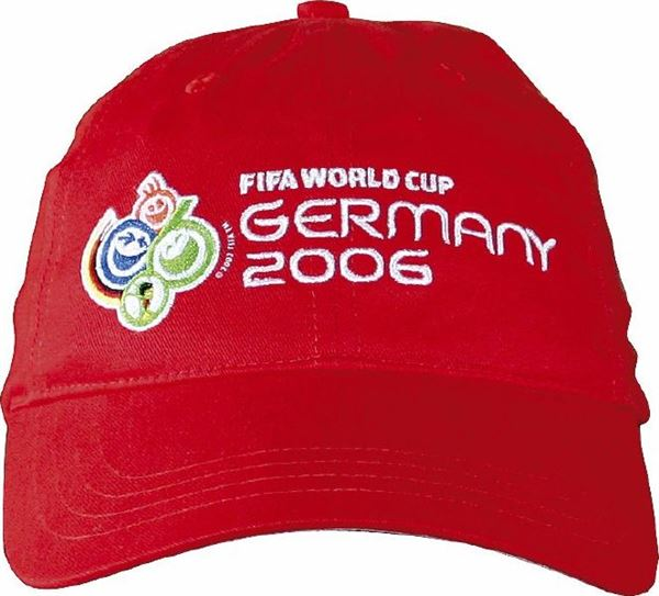 WC FIFA Cap Red