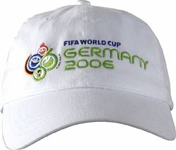 WC FIFA Cap White