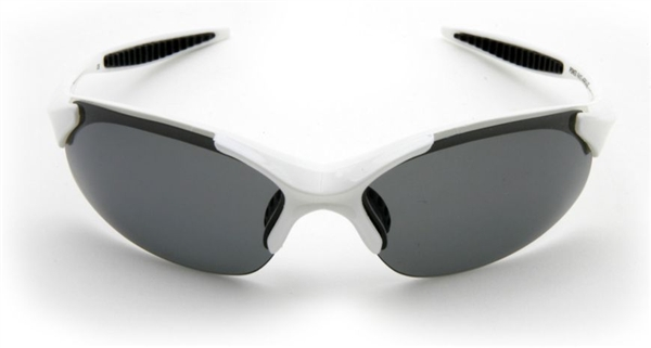 Hercules White Polarized Photochromatic Sunglasses 3 Lenses