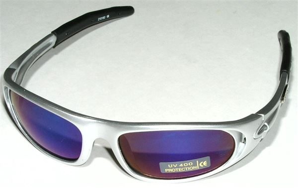 Star Fighter SILVER blue lens