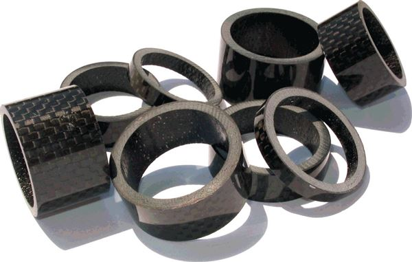carbon spacer, 5mm 1-1/8in.