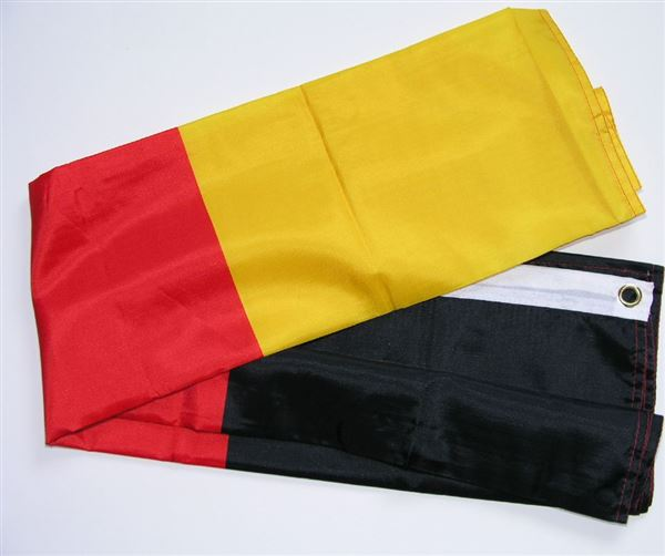 German Flag 1x1.5mtr grommets