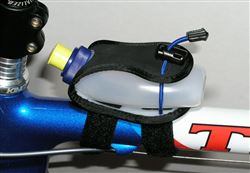 Bike Mounted top tube Gel Flask holder for GU 4 oz.-6 oz.