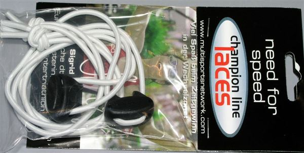White shoe lace  cord & stoppe