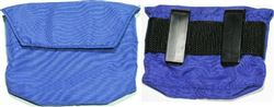 Jog Gel Key Pocket, BLUE,clips