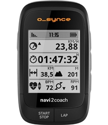 O-Synce Navi2Coach Twist Cycling Navigation Computer GPS Training ANT+