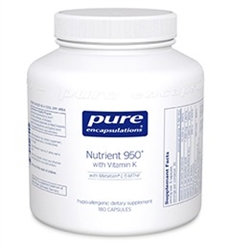 Nutrient 950 with Vitamin K 180 Count