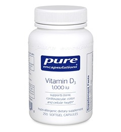 Vitamin D3 1000 IU 120 Count
