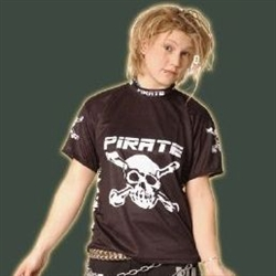 Pirate Freestyle Skate Motocross Cycling Jersey Skull Bones