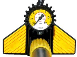 HP Floor Pump  YELLOW 160psi
