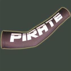 Pirate Lycra Cycling Arm Warmers, BLACK, XS-XL