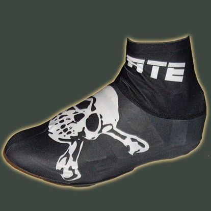 Pirate Black Cycling Overshoe Lycra S, M, L, XL Overshoes