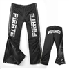 Pirate Warm Up Pants, Black Waterproof, XS,L, XL only