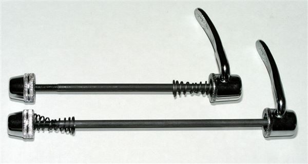 Quick-Release QR skewer Rear CrMo, round end