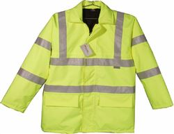 Reflective Quilted Safety Jacket, Class III ANSI 107 & EN 471