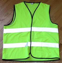Reflective Safety Vest Class 2 ANSI neon yellow 3M