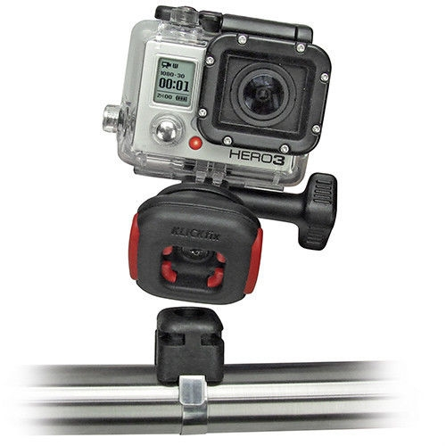 Rixen & Kaul - KLICKfix CamOn Adapter for GoPro Mount Video Cameras