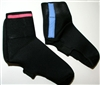 Neoprene cycling booties MTB overshoes safety reflector