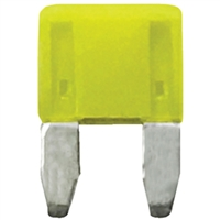Wirthco 24120 Fuse Atm Mini 20A Yellow 5/Pk