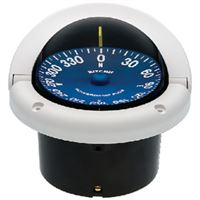 "Ritchie Compasses Ss-1002W Compass Flush Mount 3.75"" Dial White"