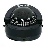 "Ritchie Compasses S-53 Compass Surface Mount 2.75"" Dial Blk."