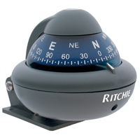 "Ritchie Compasses X-10-M Compass Bracket Mount 2"" Dial Grey"