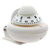 "Ritchie Compasses X-10W-M Compass Bracket Mount 2"" Dial White"