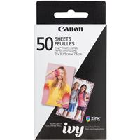 Canon Ivy 3215C001 50Sheet Zp-2030-50 Zink Photo Paper Pack