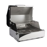 "Kuuma Products 58155 Elite 216 Gas Grill 216"" Cooking Surface Stainless Steel"
