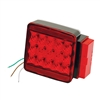 "Wesbar 283058 Led Right Roadside Submersible Taillight Over 80"" Stop/Turn"