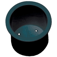 Beckson Marine GH33-B1 Std Drink Holder Black