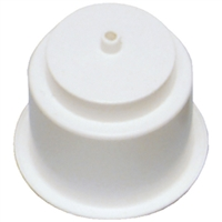 Beckson Marine GH43D-W1 Drink Holder Drain White