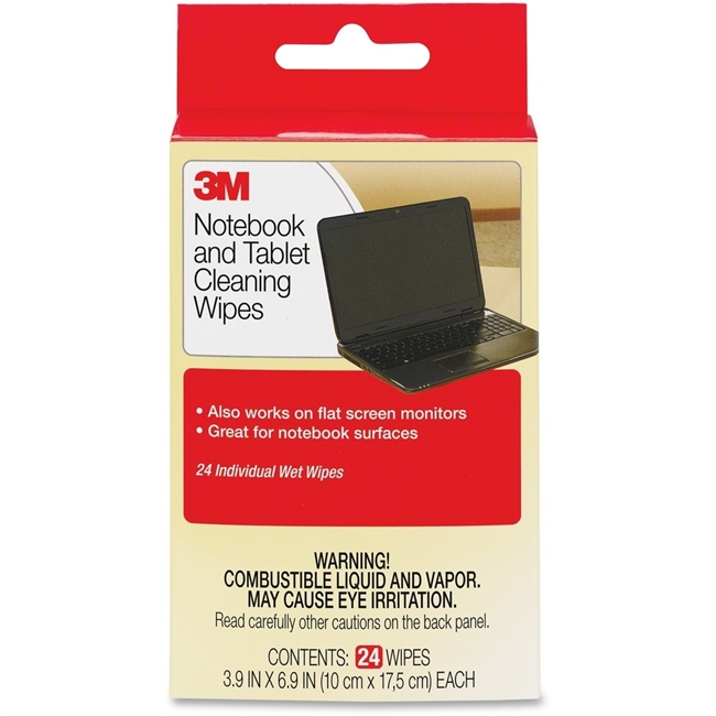 3M MOBILE INTERACTIVE SOLUTION CL630 NOTEBOOK SCREEN CLEANING WIPES