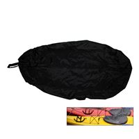 Attwood Marine 11775-5 Universal Fit Kayak Cockpit Cover Black