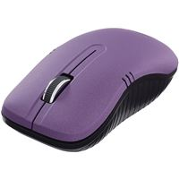 Verbatim 99781 Wireless Notebook Optical Mouse Commuter Series Matte Purple