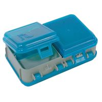 Plano 171301 Double-Sided Adjustable Tackle Organizer Small Silver/Blue