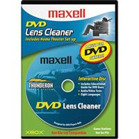 Maxell 190059 Dvd Laser Lens Cleaner Dvd-Lc Thunderon Brush System Aug