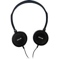 MAXELL 190318 HP 200 HEADPHONES PORTABLE AUDIO SYSTEM BINAURAL WIRED SEMI-OPE