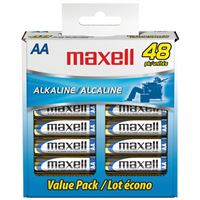 Maxell 723443 48 Box Aa Alkaline Batteries Lr06 48Cl