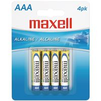 Maxellr 723865 Lr034Bp Aaa 4Pk Carded Batteries