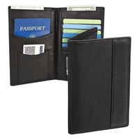Travelon 82291-500 Safeid Classic Executive Organizer Passport And Id Travel