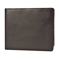 Travelon 72666-740 Safeid Hack-Proof Rfid Blocking Leather Billfold Brown