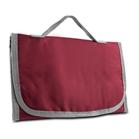 Travelon Km12-21019-220 Trip Logic Tri-Fold Toiletry Kit Bordeaux