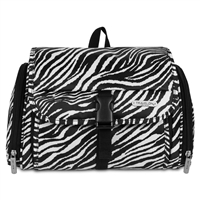 Travelon 42730-040 Hanging Toiletry Kit Zebra