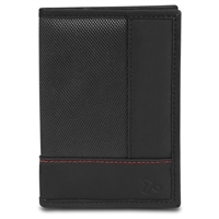 Travelon 82860-500 Safeid Accent Passport Case And Bi-Fold Wallet Black