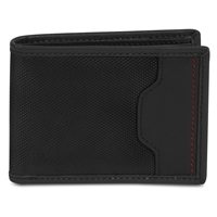 Travelon 82864-500 Safe Id Hack-Proof Accent Billfold Wallet Rfid Protection