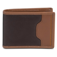 Travelon 82865-740 Safeid Hack-Proof Accent Deluxe Billfold Wallet Rfid