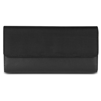 Travelon 82873-500 Safeid Rfid Blocking Card Holder Accent Flap Clutch Wallet