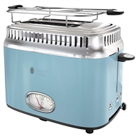 Russell Hobbs Tr9150Blr Retro Style 2 Slice Toaster In Blue
